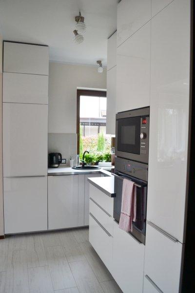 Górna zabudowa w kuchni  pomysły na aranżację  projekty kuchni  Kuchenny c   -> Kuchnia Elektryczna Do Zabudowy Samsung
