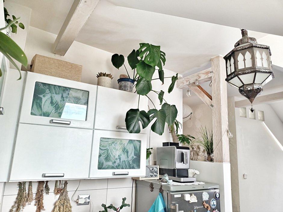 Dekoracyjna lampa jako oświetlenie kuchni
