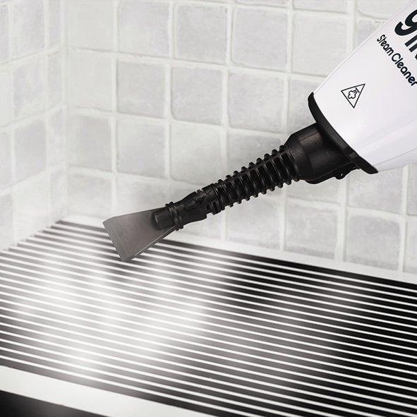 Parowy mop ręczny - czyszczenie piekarnika