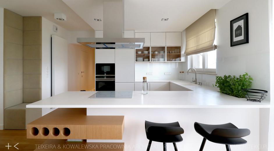 Półwysep kuchenny z okapem kominowym w kuchni otwartej  kuchnia otwarta na s   -> Kuchnia Z Okapem Kominowym