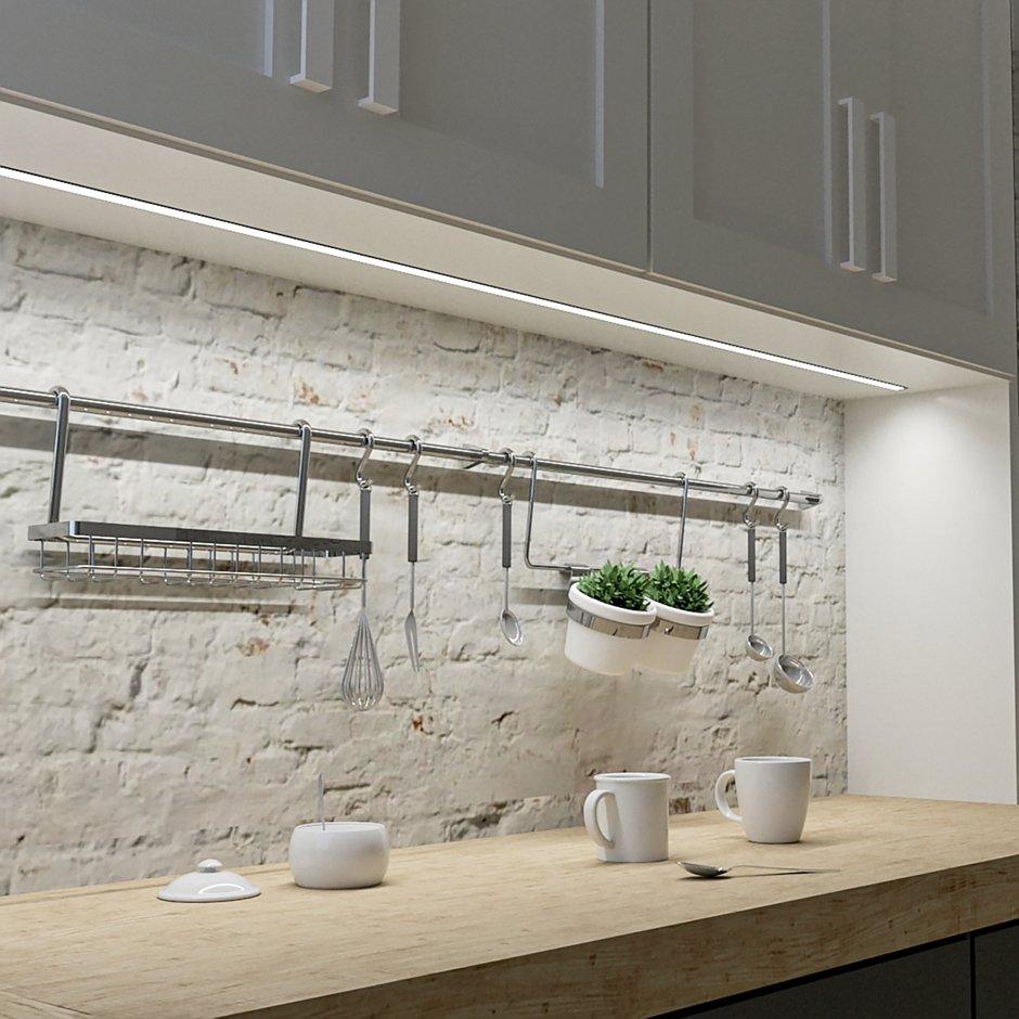 Profil aluminiowy INLINE Z do wpustu - oświetlenie blatu roboczego