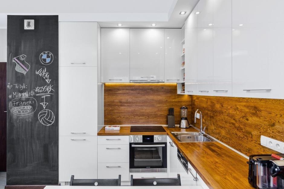 ściana Jak Tablica W Kuchni Kuchnia Dla Młodych Kuchnie