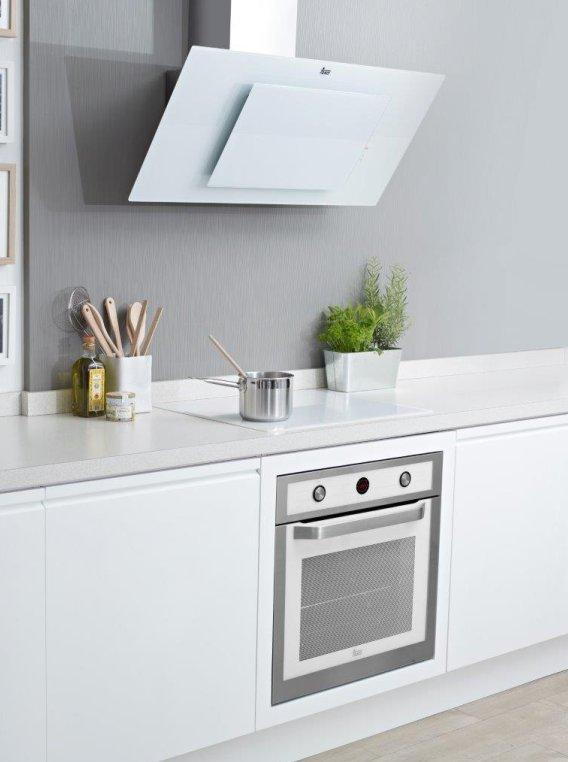 Piekarnik HL 840 White, okap przyścienny DVT 950 White  Teka  sprzęt AGD  -> Biala Kuchnia Bialy Okap