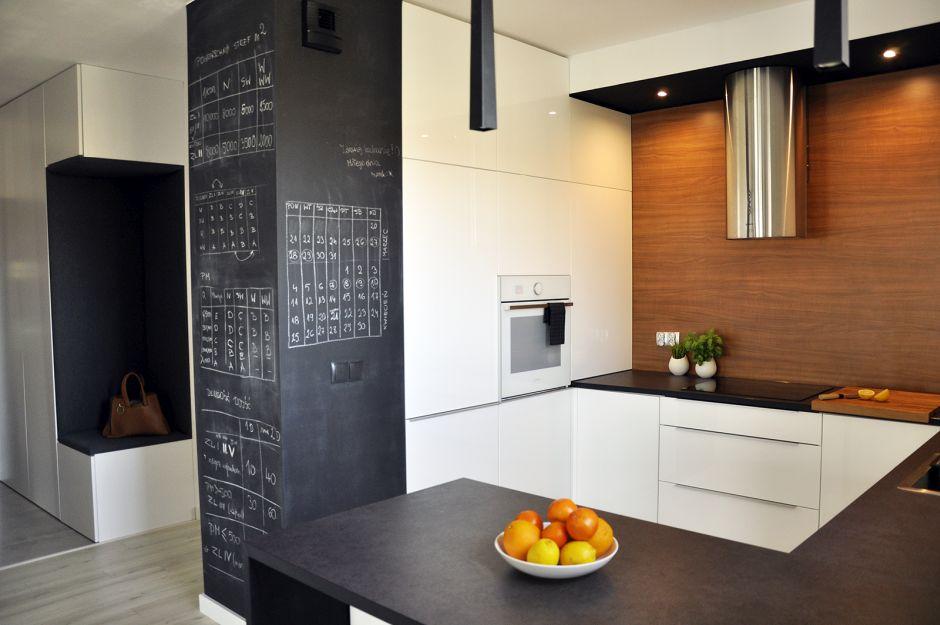 Sciana w kuchni