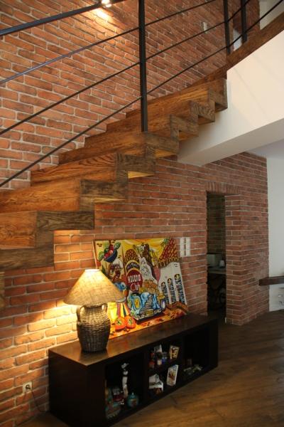 wyko�czenie ścian p�ytkami ceglanymi elkamino dom