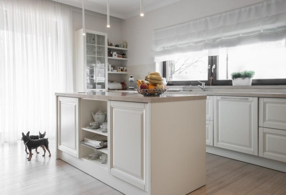 Aranżacja Otwartej Kuchni W Stylu Klasycznym Max Kuchnie