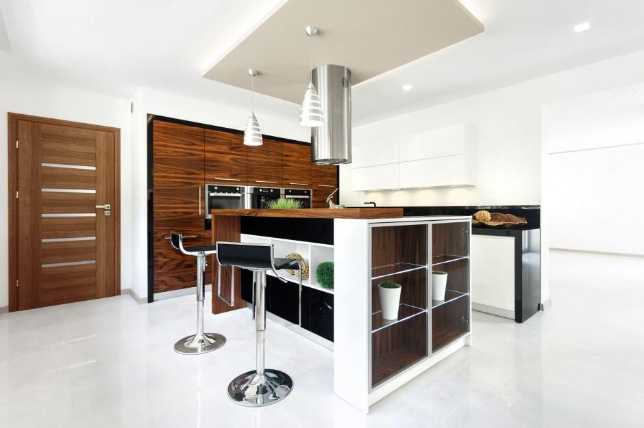 Wyspa kuchenna w kuchni w bloku  Max Kuchnie  kuchnia w