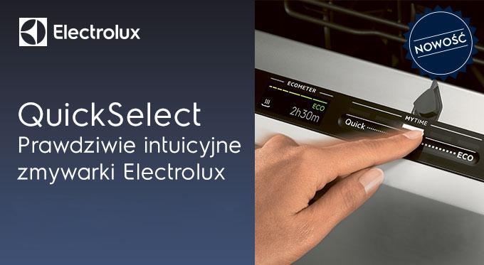 Prawdziwie intuicyjne zmywarki Electrolux