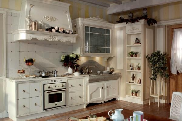 Kuchnia w stylu prowansalskim  kuchnia w stylu  Kuchenny   -> Kuchnia Gazowa Retro