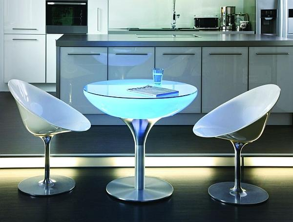 Soled - podświetlany stolik kuchenny