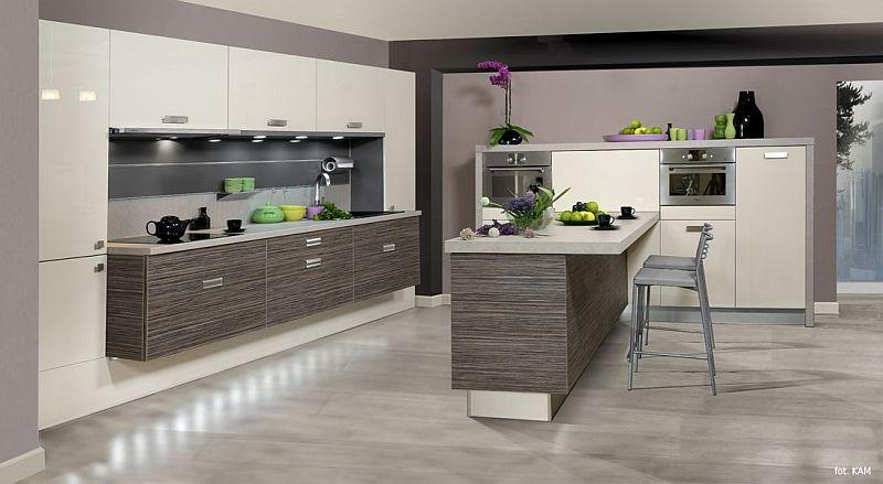 Najmodniejsze kolory w kuchni  meble kuchenne  Kuchenny com pl -> Kuchnie Nowoczesne Jasne Kolory