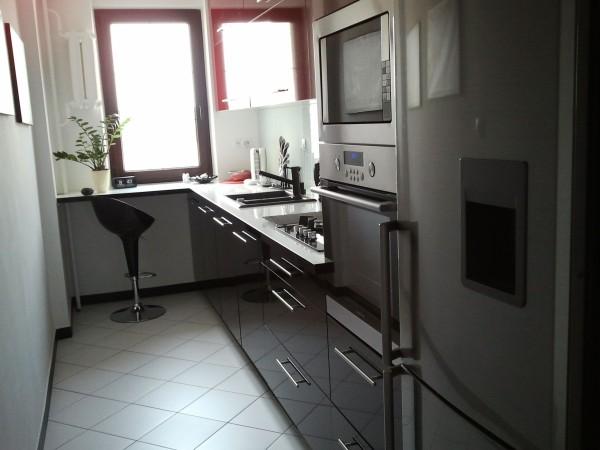 Kuchnia w bloku  projekty kuchni  Kuchenny com pl -> Kuchnia Pod Zabudowe W Bloku