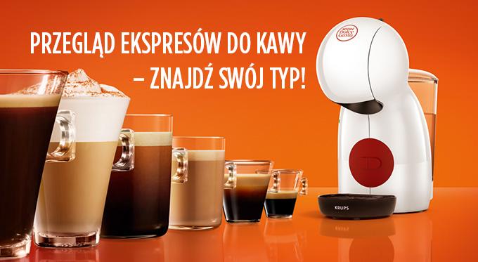 Przegląd ekspresów do kawy - znajdź swój typ