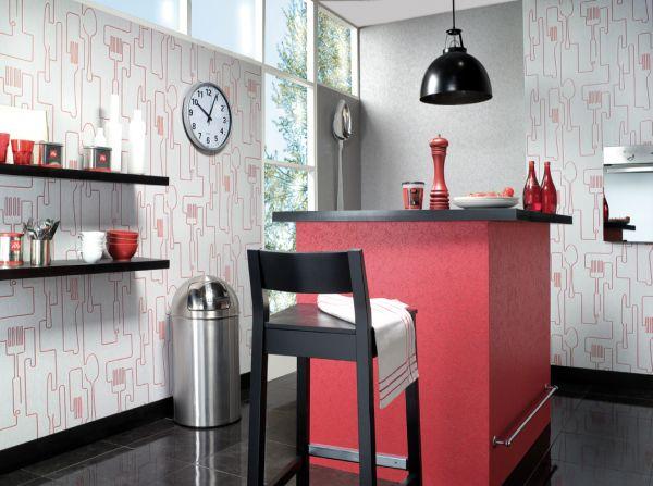 Ciany w kuchni porady for Papel pintado vinilico cocina