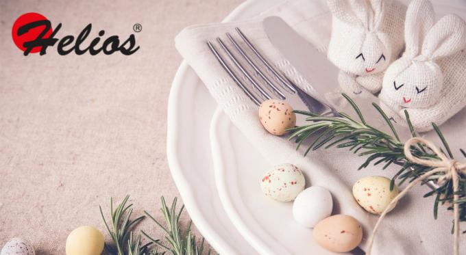Wielkanocny stół w nieszablonowym wydaniu
