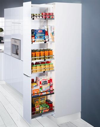 Peka - wysoka zabudowa w kuchni