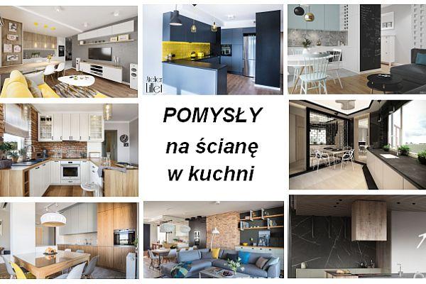 Pomysły Na ścianę W Kuchni ściany I Podłogi Kuchennycompl