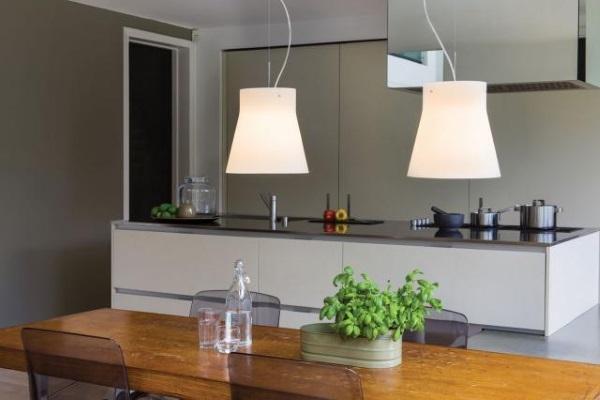 Ciekawe rozwiązania oświetlenia nad stołem
