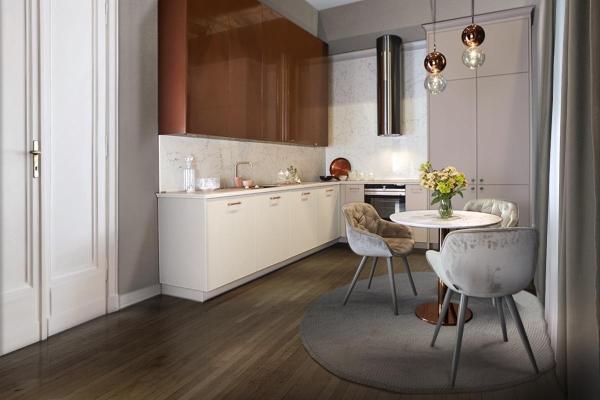 Miedź W Kuchni Modne Lampy Baterie Dodatki Trendy