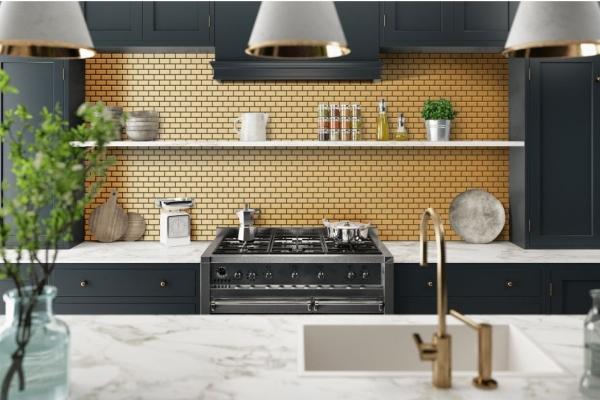 Złoto W Kuchni Nowy Trend Aranżacyjny Trendy Kuchenne