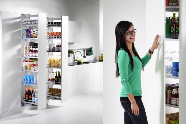 Maksymalne wykorzystanie przestrzeni wysokiej zabudowy kuchennej