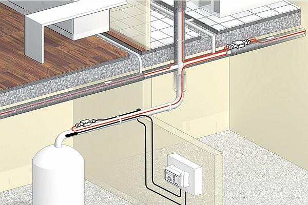 Systemy utrzymania temperatury ciepłej wody użytkowej