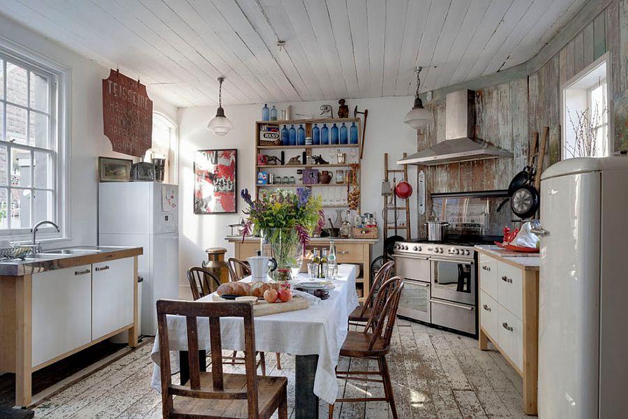 Kuchnia W Stylu Shabby Chic Kuchenny