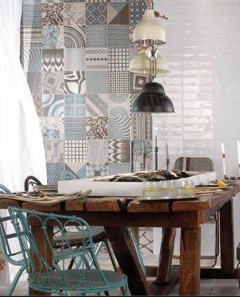 Ściany w kuchni nowoczesne