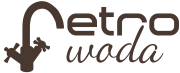 Logo Retro Woda
