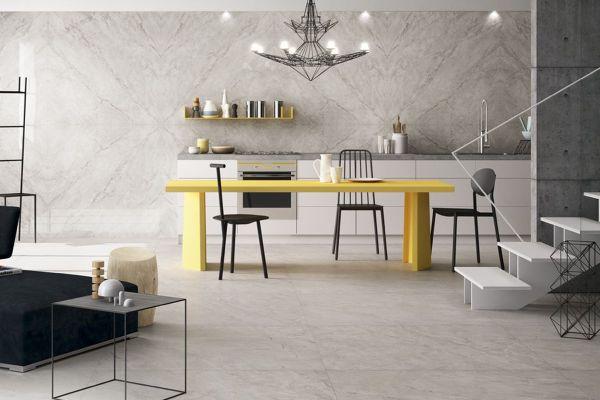 Podłogi i ściany w kuchni - zobacz modne płytki na 2019 rok