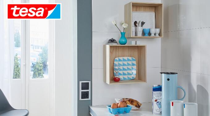 Jak zamontować w kuchni dodatkowe półki bez widocznych mocowań?