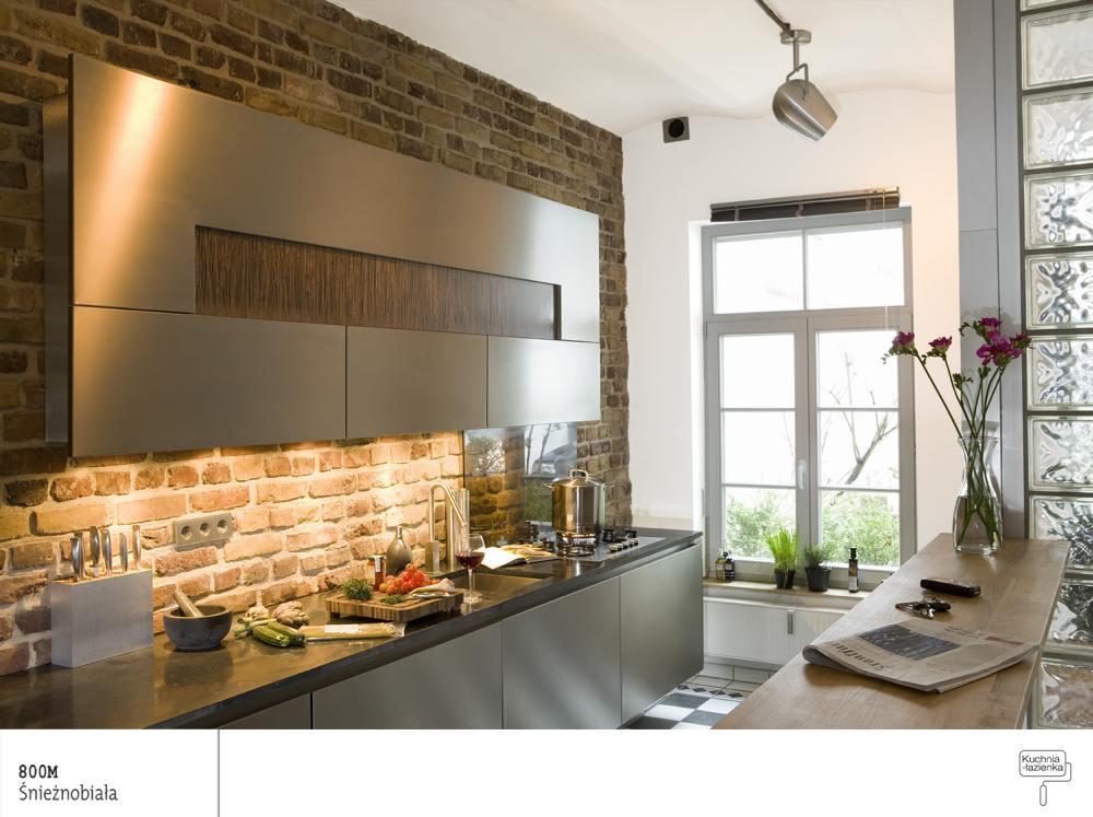 Jak zaaranżować aneks kuchenny?  projekty kuchni   -> Kuchnia Tapeta Czy Farba