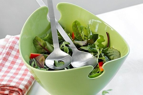 Jak podawać sałatki