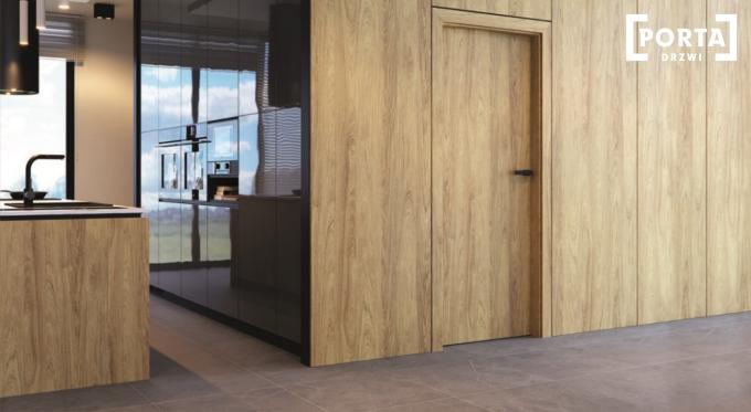 Wnętrzarskie trendy 2021 - nowe kolory drzwi PORTA