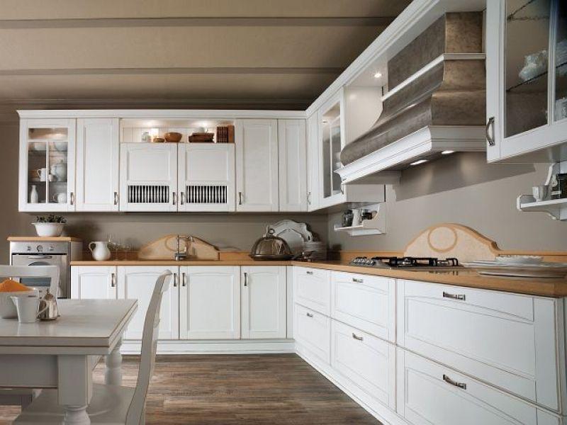 Biała Kuchnia Ponadczasowa Aranżacja Kuchnia W Stylu