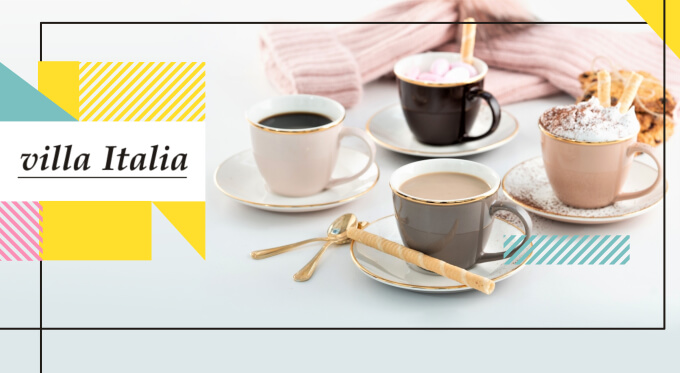 Kuchnia to również naczynia do kawy i herbaty
