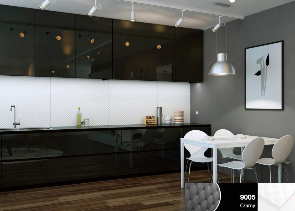 Czarno biała kuchnia  trendy kuchenne  Kuchenny com pl