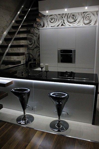 Dekoracje ścienne w kuchni - tapeta