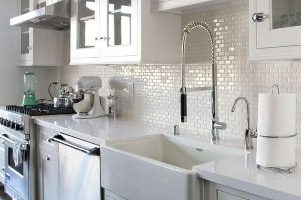 Mozaika w kuchni  najmodniejsze wzory  ściany i podłogi   -> Kuchnia Plytki Mozaika