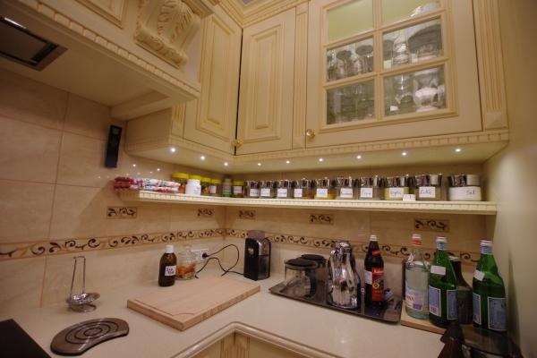 Oświetlenie ledowe w kuchni