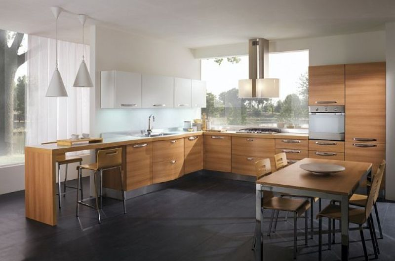 Rodzaje frontów do mebli kuchennych  meble kuchenne   -> Kuchnie Lakierowane Dwukolorowe