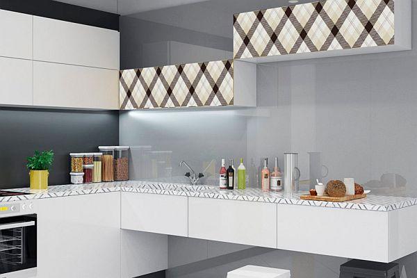 Wszystkie nowe Stylowe wzory w kuchni - szkło lakierowane MODO z nadrukiem PJ82