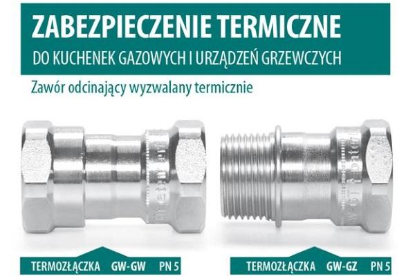 Zabezpieczenie termiczne do kuchenek gazowych