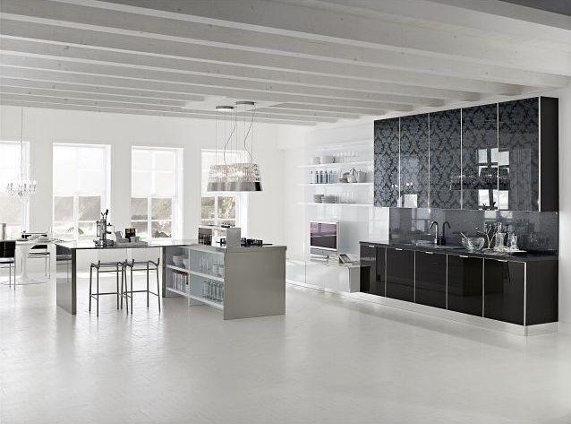Zdobione fronty kuchenne