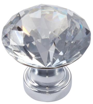 gałka meblowa kryształowa Amix