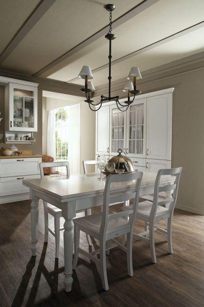 Klasyczna biała kuchnia kolekcja  Verona Rad - Pol