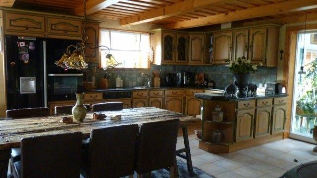 Drewniane fronty kuchenne