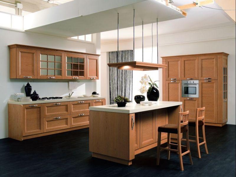 Kuchnia w stylu klasycznym z meblami Rad - Pol
