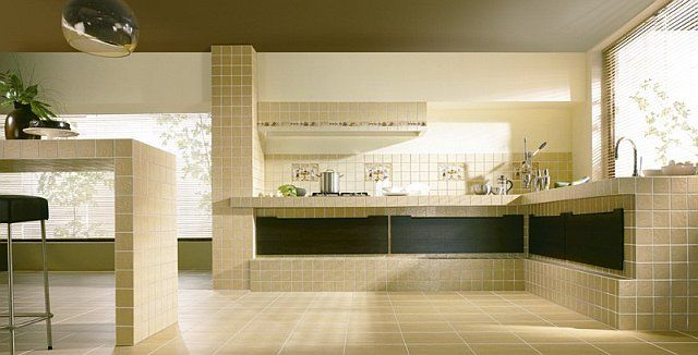Murowane szafki kuchenne