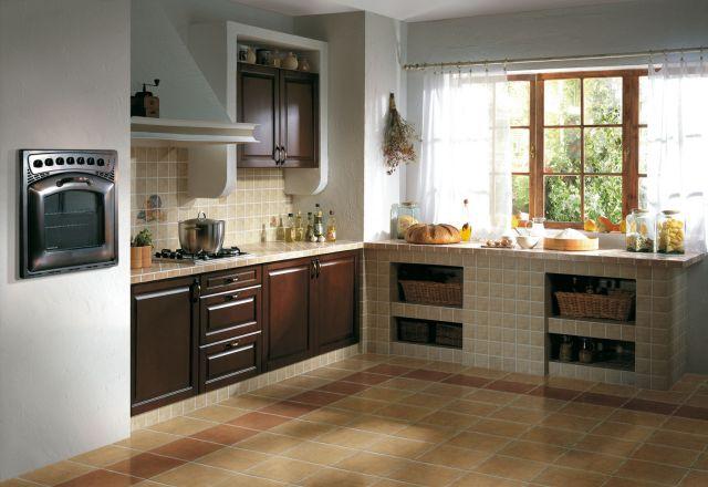 Kuchnia murowana  kuchnia w stylu  Kuchenny com pl -> Kuchnia Kaflowa Krok Po Kroku